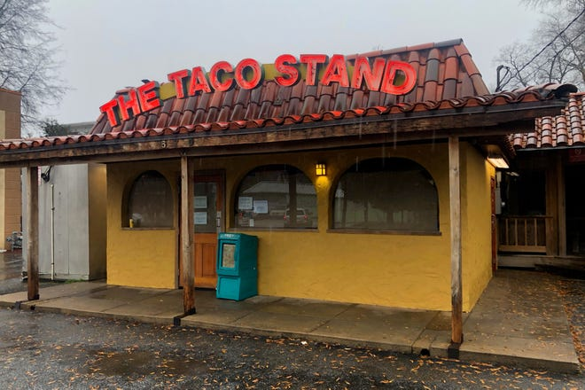 This January 2021 photo shows the newly-revamped Taco Stand on Milledge Avenue in Athens. (Photo/Mark Opel)