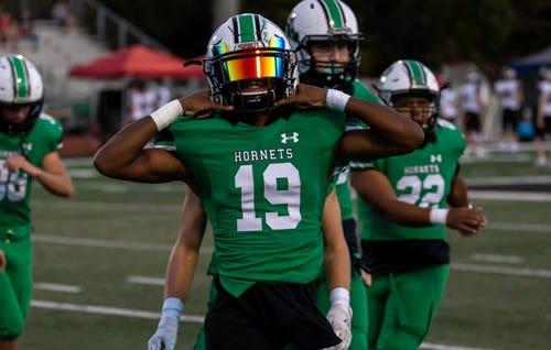 Roswell sophomore Ethan Nation snagged eight interceptions in 2020.