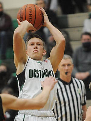West Branch's Jed Smith leads area players in free throw shooting percentage.
