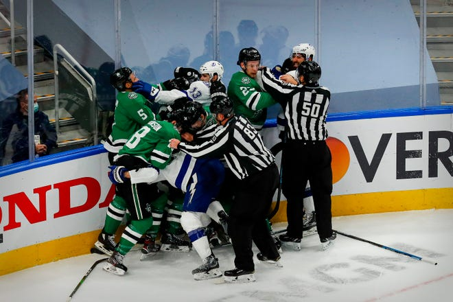 Playing a 56-game regular-season schedule with few days off against the same seven divisional opponents may result in familiarity breeding contempt in the NHL this season, including for Stanley Cup finalists Dallas and Tampa Bay.