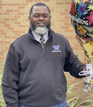 Gregory Cook, principal at West Thibodaux Middle School, was named parish Principal of the Year.