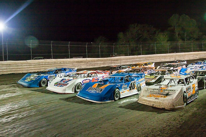 This weekend, the World of Outlaws Morton Buildings Late Model Series officially starts the 2021 season with the Sunshine Nationals at Volusia Speedway Park in Barberville. Jan. 14-16, 2021.