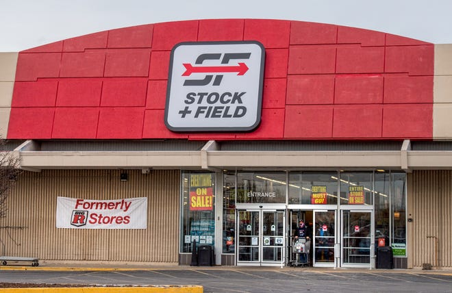 All 25 Stock + Field stores are closing, including this one in the Cherry Tree Shopping Center in Washington and one at 3315 Court Street in Pekin. The Minnesota-based firm has filed for bankruptcy.
