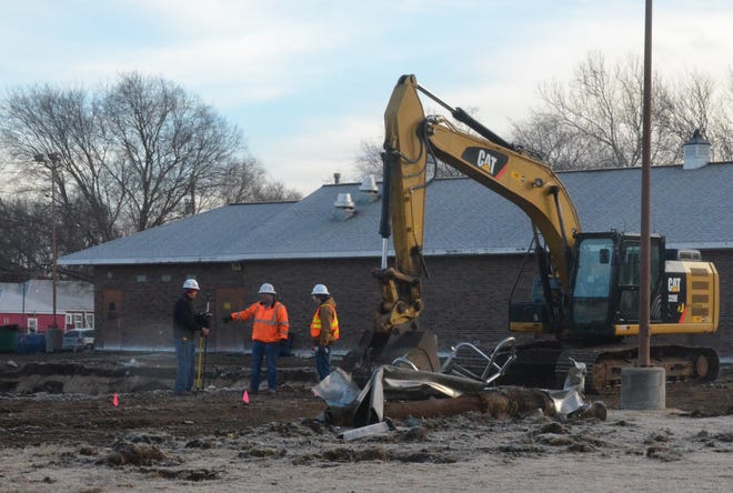 Demolition of the Newton Municipal Pool began this week. Construction crews will build a new pool in its place, with an anticipated completion in July.