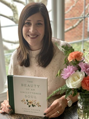 """Hudson author Carla Gasser published """"The Beauty of an Uncluttered Soul"""" in early January."""