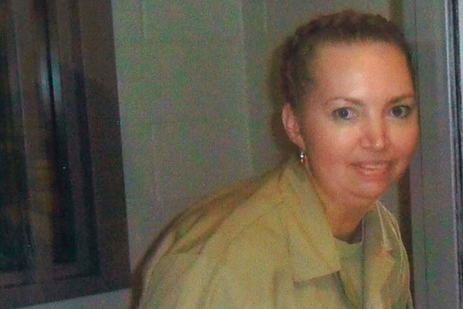 FILE - This undated file image provided by Attorneys for Lisa Montgomery shows Lisa Montgomery. An appeals court granted a stay of execution Tuesday, Jan. 12, 2021, for Montgomery, convicted of killing a pregnant woman and cutting the baby from her womb in the northwest Missouri town of Skidmore in 2004. (Attorneys for Lisa Montgomery via AP, File)
