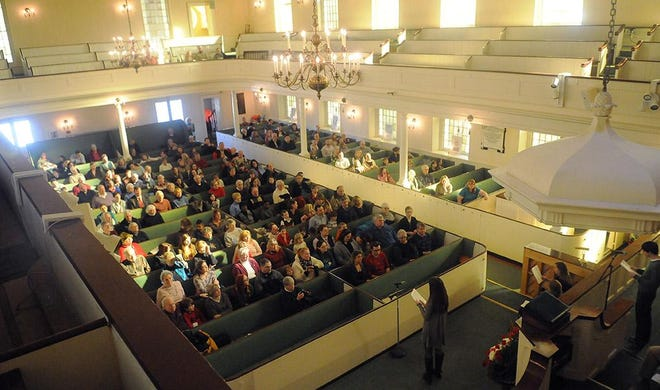First Congregational Church of Canandaigua will not host an in-person Rev. Dr. Martin Luther King Jr. celebration this year such as those in prior years as pictured. A recording of the 2020 event will be posted on its website.