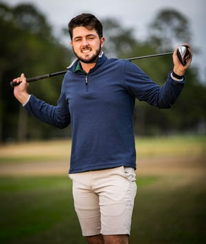 Forest senior Eoin Buckelew is this year's Ocala Star-Banner Boys Golf Player of the Year.