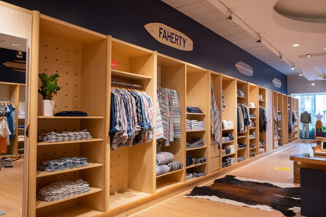 Faherty, a men's and women's clothing store, just opened at Rosemary Square in West Palm Beach. The store is part of a slate of new shops and restaurants opening at the dining, shopping and entertainment center.
