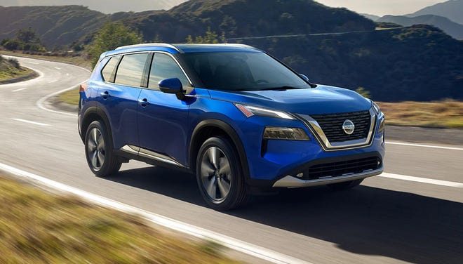 Power for the 2021 Nissan Rogue is provided by a 181-horsepower four-cylinder engine that delivers 181 pound-feet of torque, the twisting force that makes a vehicle feel vibrant, especially during low-speed acceleration.