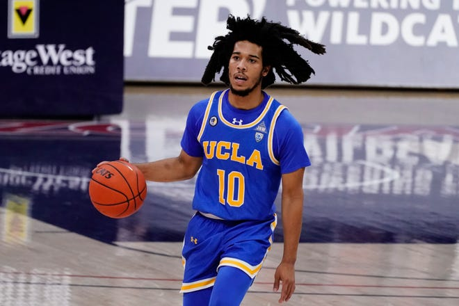 Point guard Tyger Campbell is a big reason why UCLA is atop the Pac-12 Conference entering Thursday's game against Washington State.