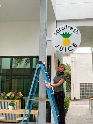 Lynn Morris has opened Sarafresh Juice in the Rosemary District of Sarasota.