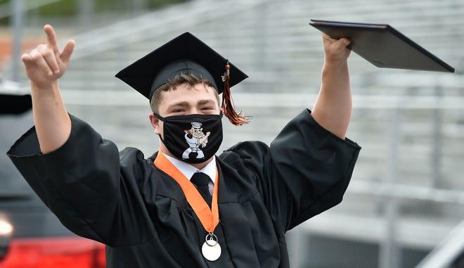 Sarasota High School's Class of 2020 graduation, held in July.