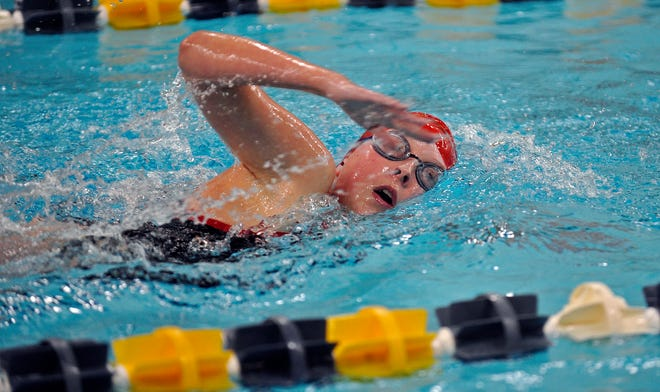 New Bedford's Sara Curry is one of the area's top returning female swimmers.