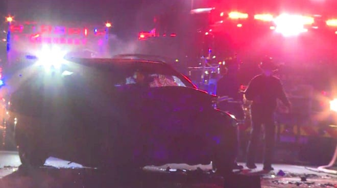 One person is dead following a fatal crash in Somerset early Wednesday morning.