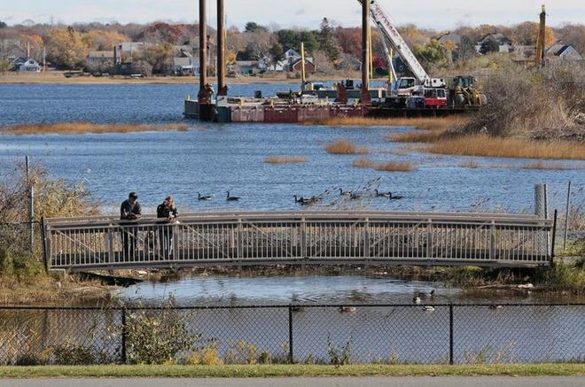 File photo: An area along Riverside Park overlooking the Acushnet River.