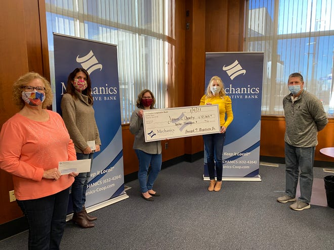 Employees enrolled in the Jeans Fridays for Charity were allowed to dress down and wear jeans each Friday throughout the year and their charitable contribution was made via payroll deduction.