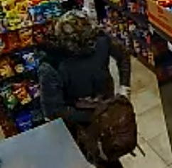 Fayetteville police are asking the public's help with identifying the man seen in this surveillance photo.