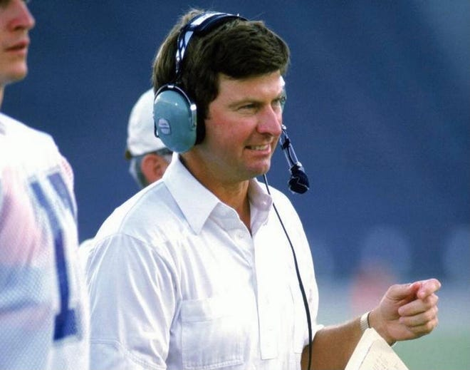 Former Florida coach Steve Spurrier during his days as an assistant at Duke.