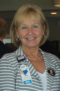 Donna Bliven, Chief Nursing Officer and Vice President of Patient Care Services, is retiring at the end of the month.