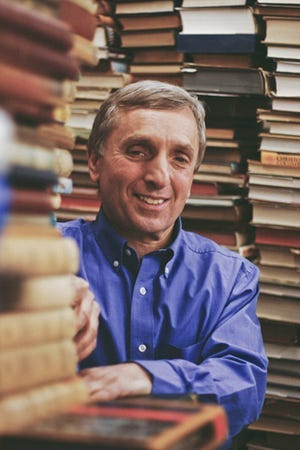 Ken Gloss, owner of Brattle Book Shop in Boston, will give a virtual program presented by the Old Bridgewater Historical Society on Jan. 19 at 7 p.m.