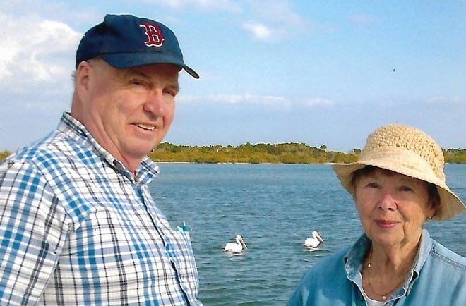 Charlie Salisbury, shown here with his wife Martha, died on Jan. 2. He served in North Andover's local government for decades, most notably as town moderator for 20 years.
