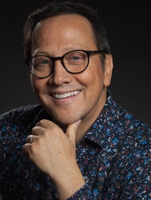 Comedian Rob Schneider will be at the Montgomery Performing Arts Centre on Friday.