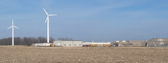 WeatherBug meteorological equipment and cameras mounted on Wynford's wind turbine towers may be updated soon.