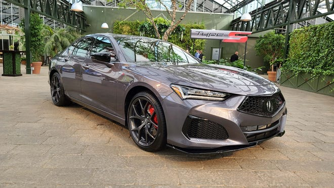 Coming attractions: The Acura TLX Type S will feature a 355-horse turbo V-6. Yum.