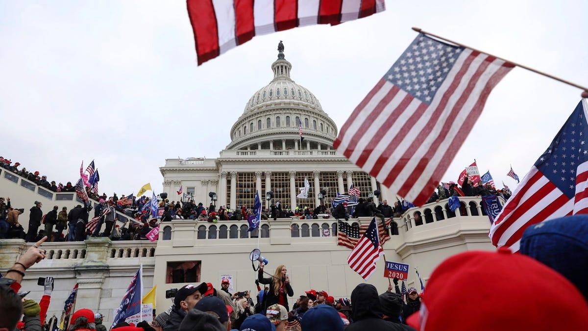 Anti-Semitism seen in Capitol insurrection raises alarms 1