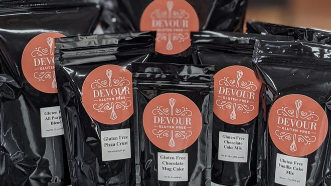 Christina Mike started her own gourmet gluten-free blend and mix business out of the Oak Creek Common Cookhouse called DEVOUR Gluten Free.
