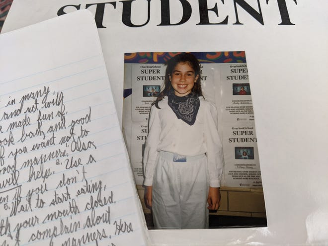 Abbey writes about the power of nostalgia in holding onto a few items from her grade school years.
