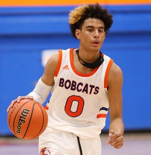 San Angelo Central High School sophomore Branden Campbell earned first-team honors on the 2020-21 All-District Boys Basketball Team.