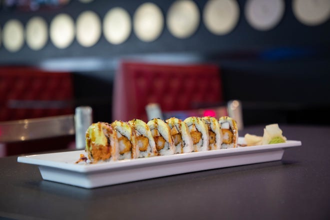 Rock-n-Roll sushi's good times roll is on the menu at the new rock music themed restaurant in Market Square set to open Monday, Jan. 18, 2021.