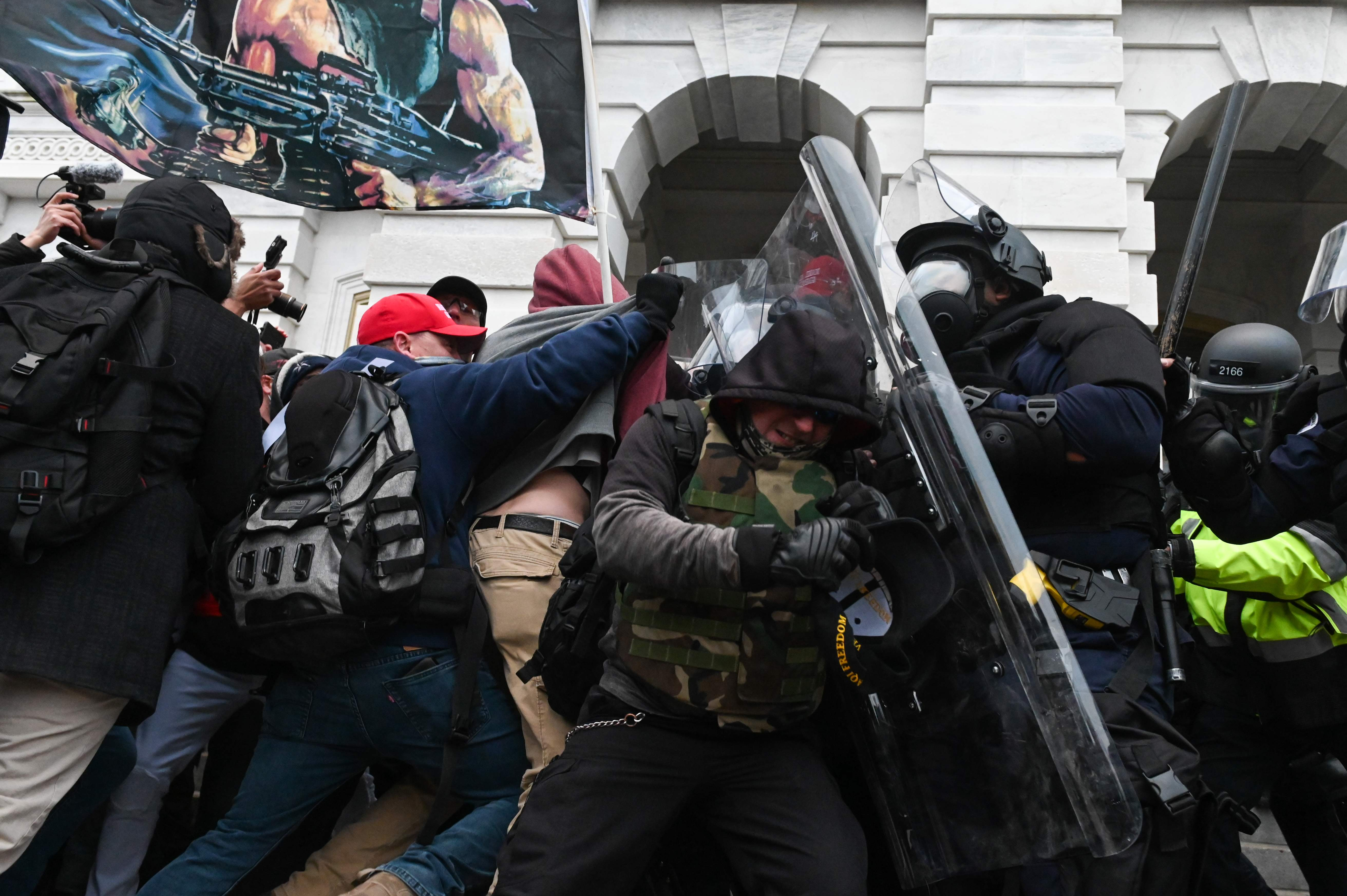 DOJ should investigate social media platform Gab and its CEO over Capitol riots, according to anti-hate group