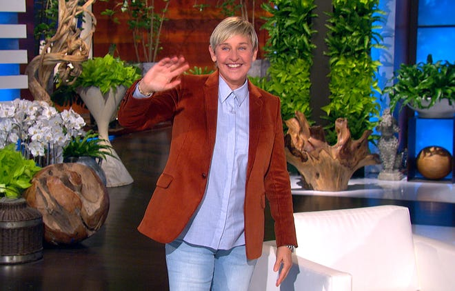 """The Ellen DeGeneres Show"" returned Wednesday after production was forced to shut down in December when DeGeneres tested positive for COVID-19."