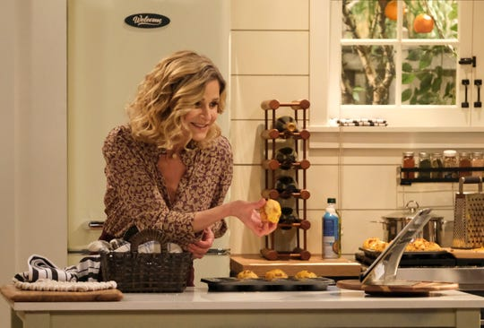 "Kyra Sedgwick in a scene from ""Call Your Mother."""