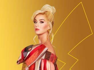 Pop megastar Katy Perry is game for celebrating the 25th anniversary of the Pokémon video game.