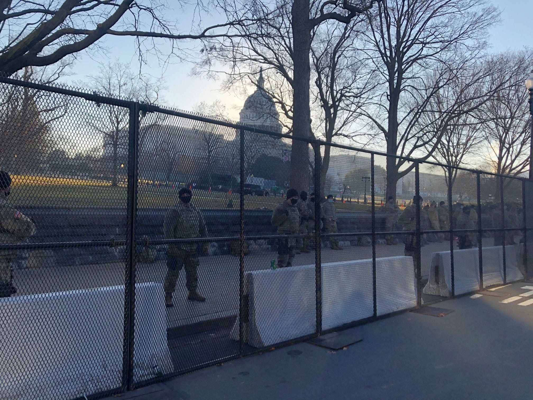 Capitol Police arrest Virginia man who tried to pass security checkpoint with weapons,  unauthorized  inauguration credential