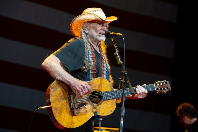 Willie Nelson performs at his Fourth of July Picnic at Circuit of the Americas in 2019.