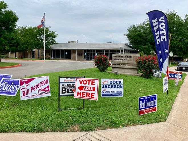 The Bastrop school district service center, as in years past, will serve as a polling location for the city and school board elections during early voting and on Election Day.