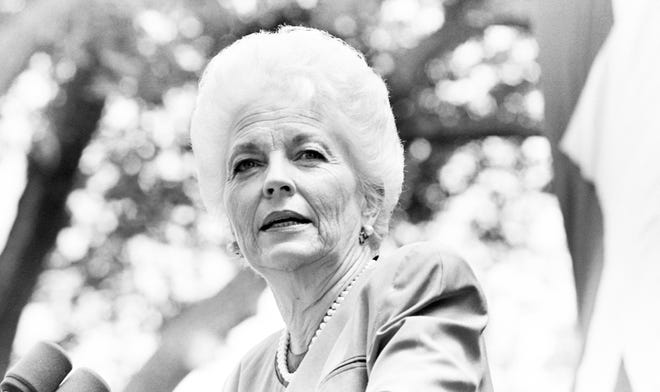Governor Ann Richards, shown here announcing her candidacy at the Texas State Capitol, believed in compassionate government you could trust, writes a former staffer on the 30th anniversary of her inauguration.