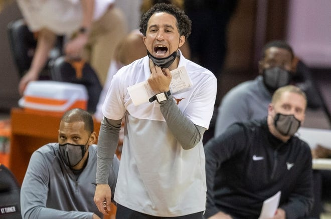"""Texas men's basketball coach Shaka Smart has his players' backs during the social awareness movement. He praised all Longhorns athletes on Monday. """"I'm really proud of the student-athletes here."""""""