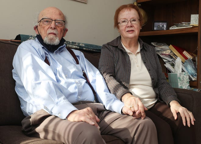 Jerry Lewis, an emeritus professor of sociology at Kent State, and his wife, Diane, struggled Thursday to get information about how to get the COVID-19 vaccine. The Hudson couple called two pharmacies, but neither store had any information about the vaccine.