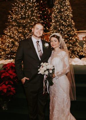Christian Jordan Albers and Kristina (Krisi) Marie Tobias