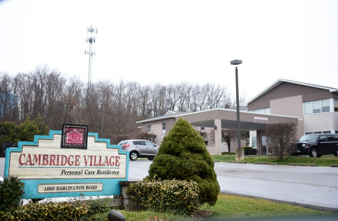 Cambridge Village Personal Care Home in Patterson Township is among the 11 long-term care facilities to report COVID cases in residents.