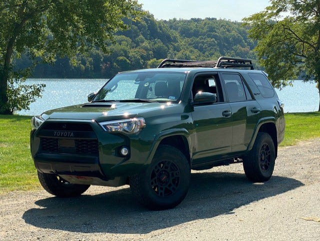 Auto Review 4runner Trd Pro Can Take You Places Both On And Off Roads