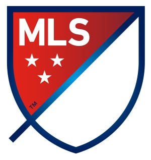 Major league soccer logo, 2020. [MLS]