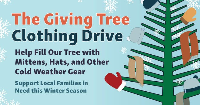 Stop by Morning Pointe in Spring Hill during January, where the retirement home is accepting donations of winter clothing to be donated to Center of Hope in Columbia.