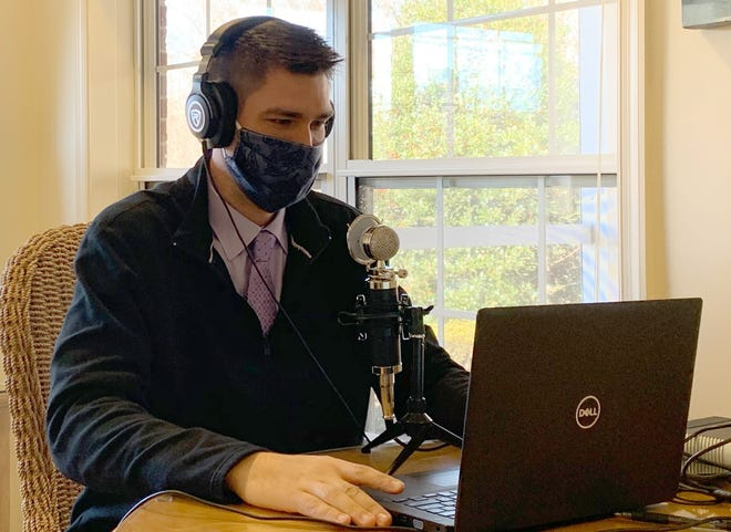 Hospice of Davidson County Bereavement Counselor and Program Coordinator Cole Warner is co-host of the nonprofit's new podcast, Community Connections.
